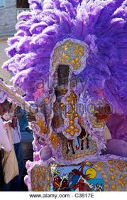 mardi gras indian costumes a mardi gras indian wearing traditional made costume sewn from