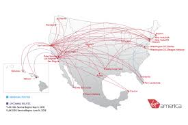 Alaska Airlines Map by The Good Bad U0026 Ugly Of Virgin America Airways Magazine