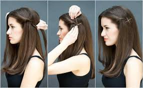 eid hairstyles 2017 2018 with tutorials for long and short hair eid simple front hairstyles for long hair step by step hairstyles