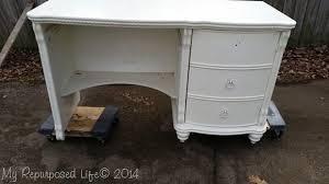 my desk has no drawers diy desk hutch modification my repurposed life