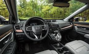 Car Interior Noise Comparison 2018 Honda Cr V In Depth Model Review Car And Driver