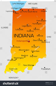 Map Of Ohio And Indiana by Cities In Indiana Map Of Indiana Cities Map Of Indiana State Map