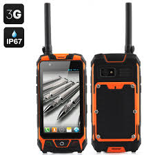 Rugged Cell Phones 4 5 Inch Rugged Smartphone Orange Toyonix