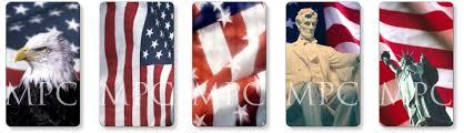 patriotic and memorial prayer cards