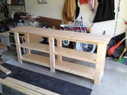 Sofa Table Build Sofa Table Plans Ana White Diy Simple Plywood Dresser Plans