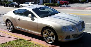 chrome bentley 2012 bentley continental gt south beach exotic cars on the