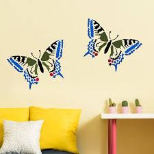Butterfly Kids Room by Papilio Butterfly Stencil Butterfly Stencils For Nursery Walls