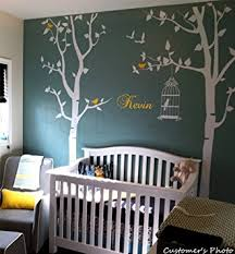Custom Nursery Wall Decals Popdecors Nursery Tree With Personalized Kid S Name