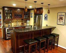 basement kitchen bar ideas bar basement ideas unique basement bar design with smart lighting