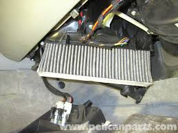 porsche cayenne cabin air filter replacement 2003 2008 pelican