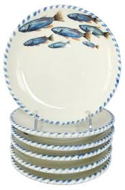 lake themed dinnerware