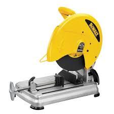 dewalt chop saw table dewalt 14 in chop saw 15 s 4 000 rpm yellow 15 s d28715