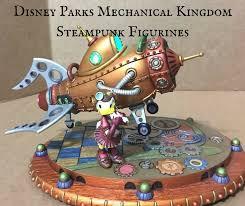 parks mechanical kingdom steunk figurines