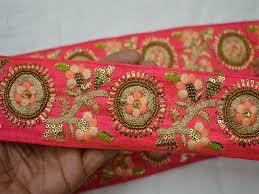 craft ribbon wholesale indian sari border craft ribbon wholesale trimming sewing borders