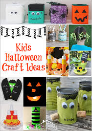 Childrens Halloween Craft Ideas - halloween crafts for kids