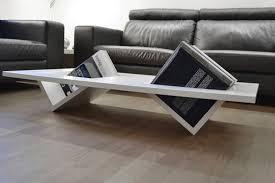 original design coffee table wooden rectangular with storage
