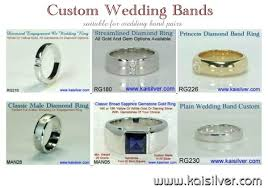 Wedding Ring Price by Wedding Band Pairs Deciding On The Band Width For A Pair Of