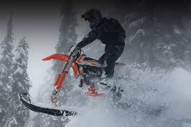 motocross bike shops mototrax snow bike kit for biking in snow mountains and motocross
