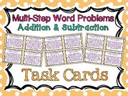 multi step word problem freebie students get to create and then