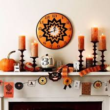 Halloween Themed Baby Shower Decorations by Halloween Mantel Decor How To Make Halloween Props Fiber Optic
