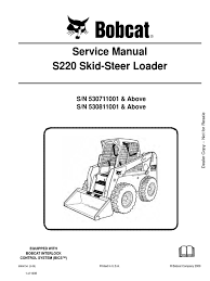 download manual uso a bobcat 751 753 763 773 773th docshare tips