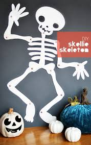 Halloween Crafts For Kindergarten Party by 25 Best Skeleton Craft Ideas On Pinterest Dino Craft Halloween