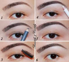 proper way to fill in eyebrows beautify and creatify four different ways to fill in and shape eyebrows