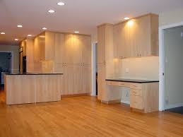 Light Birch Kitchen Cabinets Kitchen Entrancing Simple Kitchen Design Using Solid Birch Wood