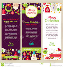 christmas party flyer vector template stock vector image 58787888