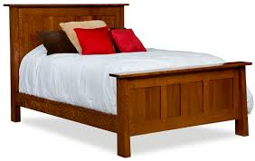 beds amish furniture gallery in lockport il freemont panel bed