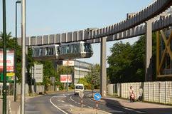 architektur dã sseldorf dã sseldorf skytrain redaktionelles bild bild 27633440