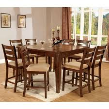 Mission Style Dining Room Sets by Priscilla Mission Style Antique Oak Finish Counter Height Dining