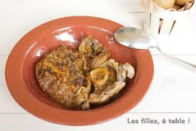 comment cuisiner le jarret de veau tanjia de jarret de veau les filles à table