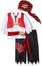 Pirate Halloween Costumes Toddlers Amazon Toy Kids Pirate Costume Toys U0026 Games
