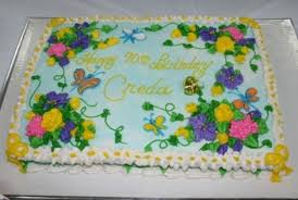 Sheet Cake Decoration Spring Sheet Cake Cakecentral Com