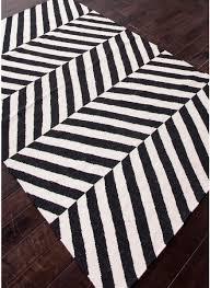 Herringbone Area Rug Modernrugs Com Maroc Salma Black White Modern Rugs Black White