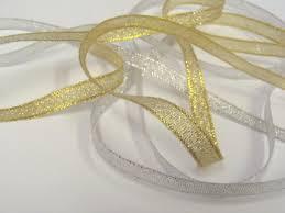metallic ribbon 6mm metallic ribbon buy on our online store fabriclan co uk