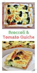 cuisine quiche broccoli tomato quiche no rolling pin needed fab food 4 all