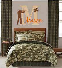 Outdoor Themed Bedding Hunting Bedroom Theme Decor Boys Room Camo Ideas Lodge Decorating