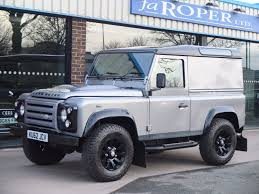 used land rover defender 90 2 2td x tech hard top 22750 plus vat