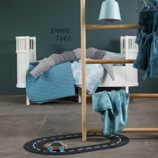 sebra crib white wood 112 5x70x88cm lefliving com