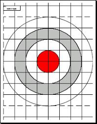 printable shooting targets pdf printable targets