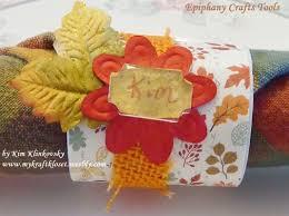 thanksgiving napkin rings craft http mykraftkloset blogspot com my kraft kloset