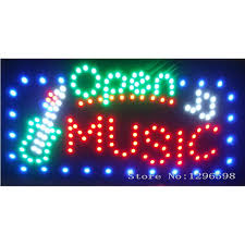 shop open sign lights 2017 new arriving led music karaoke store shop open signs 24x 13