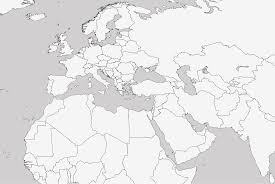 Northern Africa Blank Map by Outline Map Of Middle East And North Africa With Blank For