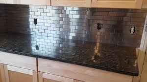Stainless Steel Backsplash From Lowes YouTube - Stainless steel backsplash
