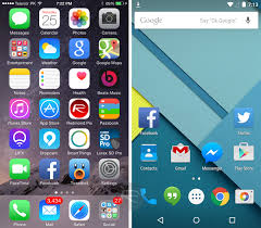 android lolipop apple ios 8 1 vs android 5 0 lollipop visual comparison