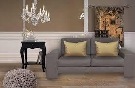 coussins de canapé coussins pour canapé taupe