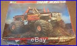116 swamp monster muddin u0027 monster truck vintage revell model kit