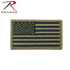 Embroidered American Flag Rothco Ocp American Flag Patch With Hook Back